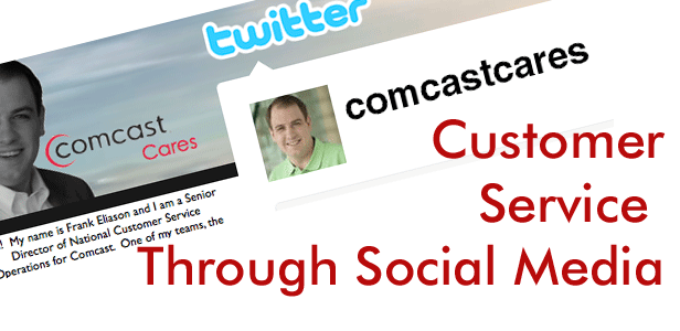 Customer Service Through Social Media